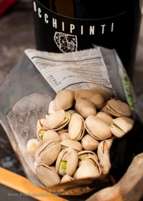 Pistachios! Sicilian pistachios are special, but we don't see them in Minnesota. California pistachios will suffice.