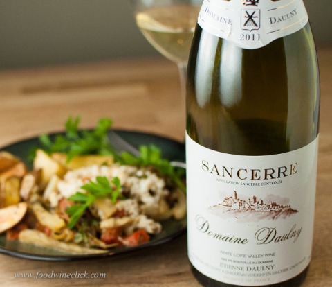 Sancerre: another winner with fish in parchment