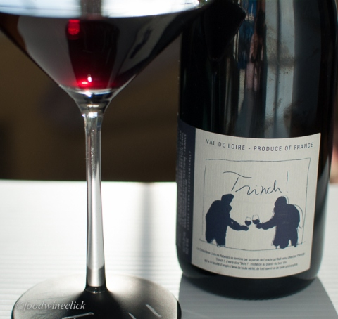 Cab Franc from the Loire - a medium weight red with lots of earthy tones.