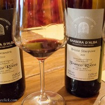 Two different treatments of Barbera depending on your preference