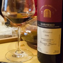 and washed down (!) with single cru Barbaresco!