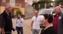 Having completed our tour, Franco and Susan wished us well and saw us on our way.
