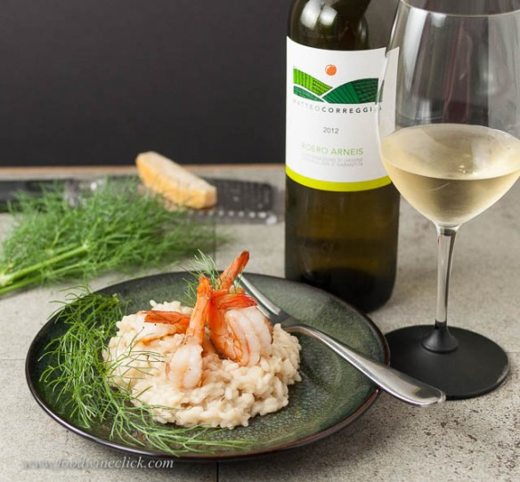 Shrimp and Fennel Risotto