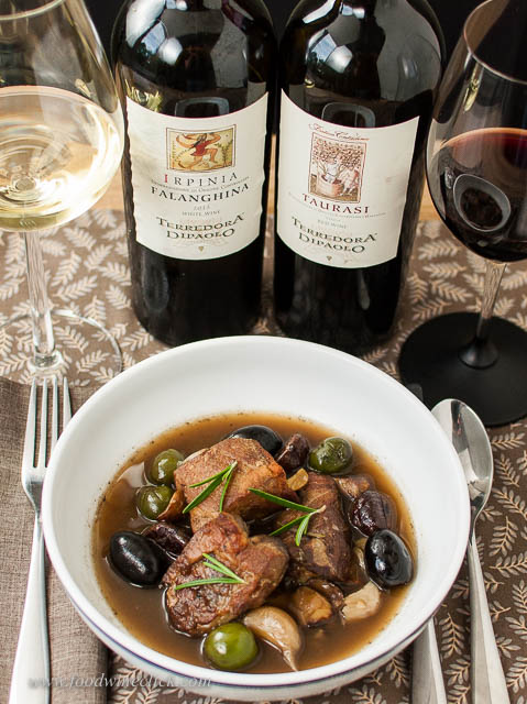 Braised pork goes equally well with white and red wines. You can't go wrong!