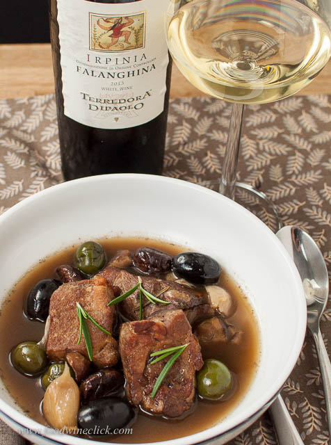 White wine with pork?  Falanghina = yes!