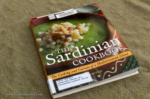 This cookbook is full of great ideas for Sardinian dishes.  Now I need to find some bottarga
