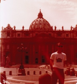 19 year old me, in Rome!