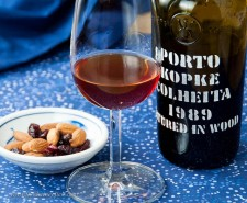 Ahh... Colheita is a single vintage tawny port, making this a special version of a 20+ year tawny. At $35 for a 375ml half-bottle, this is in the 20 year tawny price range. Looking for a birthday gift for me? This would do nicely, especially if you could find a 1957 Colheita...