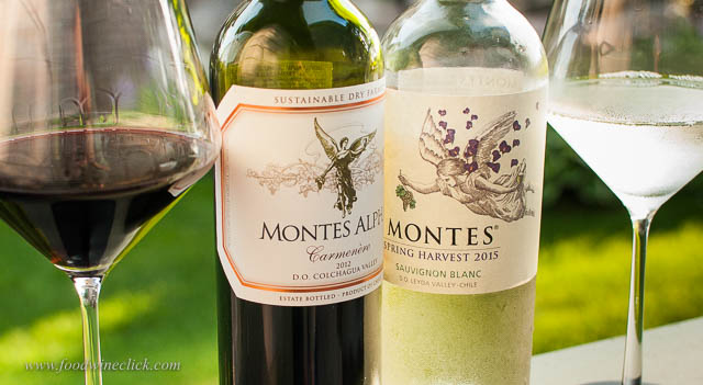 Montes red and white