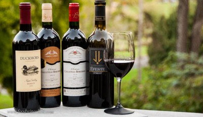 A variety of Merlot wines