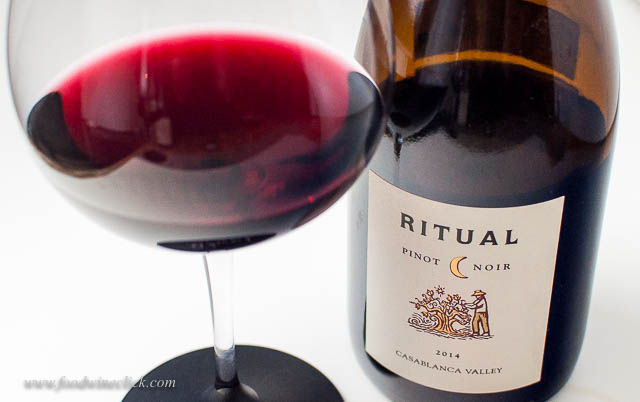 Ritual Pinot Noir from Casablanca Valley in Chile
