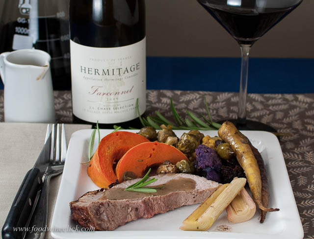 Pork Roast and Hermitage