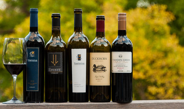 Merlot from all over North America for #MerlotMe
