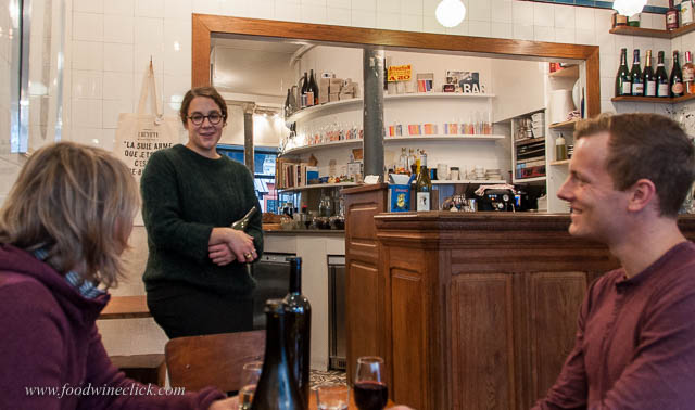 Chatting with Camille about her passion for natural wines.