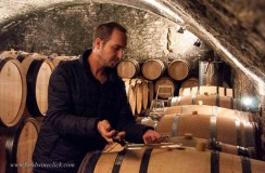 Tasting the 2015's in Barrel with Thibault at Domaine Morey-Coffinet