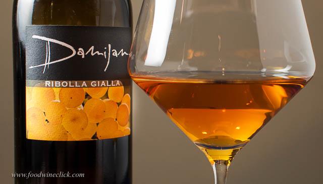 damijan podversic skin fermented ribolla gialla