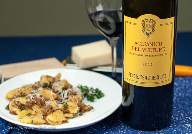 Aglianico del Vulture needs a rich, chewy dish.