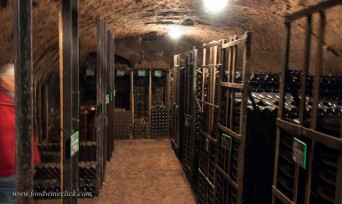 The cellar at Domaine Albert Boillot