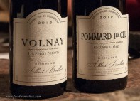 Village level Volnay and 1er cru Pommard. Both are in the Cote de Beaune
