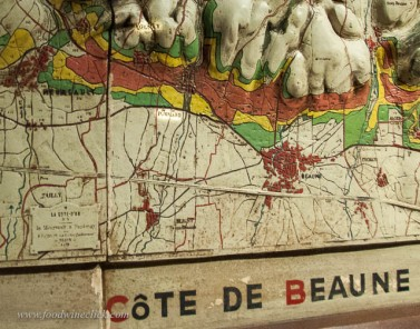 An old 3D map showing the vineyard ratings which pre-date today's Grand Cru, 1er Cru and Village classifications. It's all about the land!