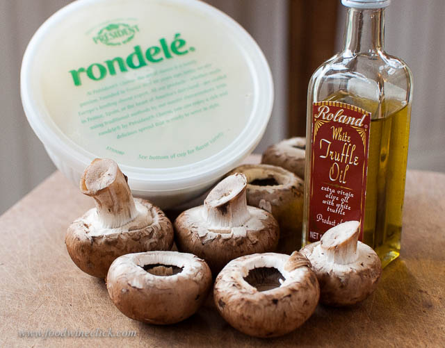Truffle oil is your appetizer secret weapon. Great power must be used with care!