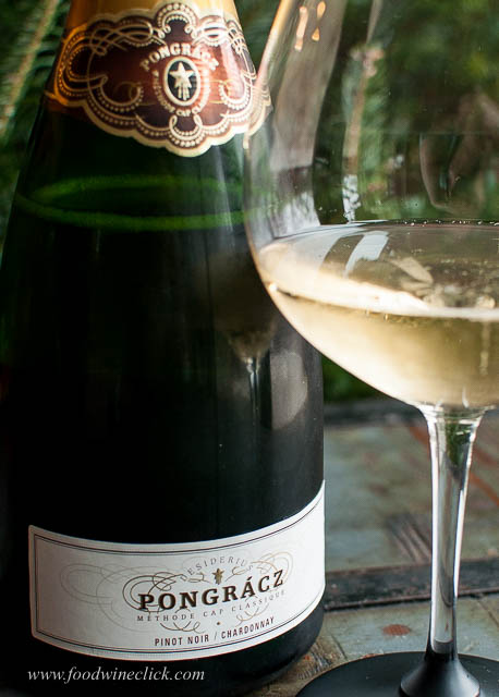 Pongrácz Winery makes their Methode Cap Classique Brut from Chardonnay and Pinot Noir