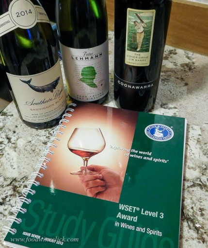 One nice thing: WSET provides study materials at this level. Lots of study required!
