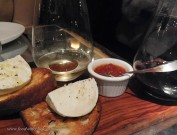 Our server knew we were wine geeks, brought us a bonus pairing with the cheese course: Scarpetta Barbera
