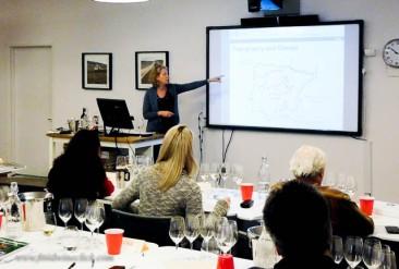 Excellent instructors, facilities, wines.