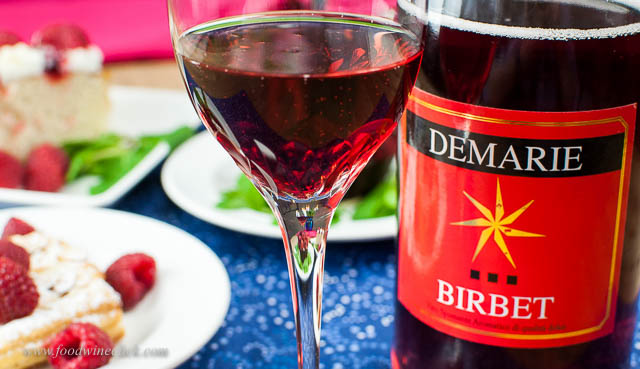 Demarie Birbet, a rare combination of red, sweet, sparkling wine