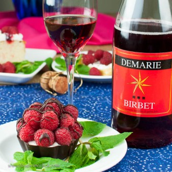 My Valentine's pick would be Demarie Birbet with a creamy Raspberry Mascarpone tart.