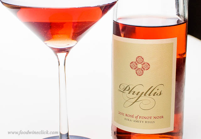 "Gem #1 iOTA Cellars Rosé of Pinot Noir ""Phyllis"" 2011"
