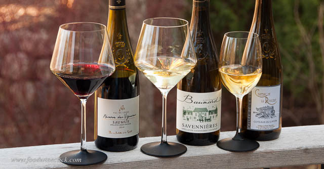 Saumur Rouge, Savennierres and Coteaux du Layon wines