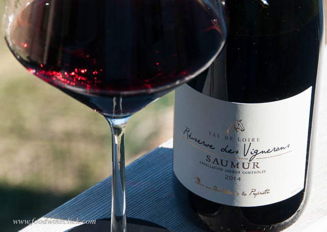 Saumur Rouge is made from the Cabernet Franc grape