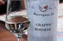It's Italy, of course grappa is available!