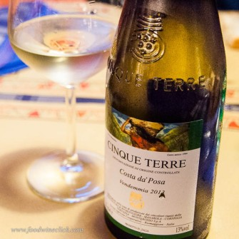 Another nice Cinque Terre DOC wine. A blend of Vermentino, Albarola and Bosco grapes.