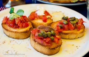 Bruschetta four ways