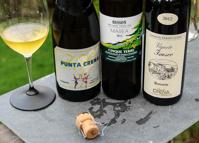 Requires a bit of searching, but you can find Ligurian wines without an airfare to Italy