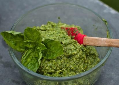 Fresh and bright green, yum!