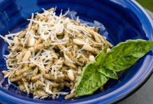 Here's my trofie al pesto