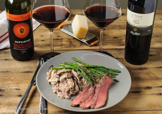 Valtellina wines, arborio rice, Taleggio and Grana Padano all hail from Lombardia