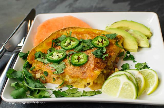 spicy shrimp enchilada bake