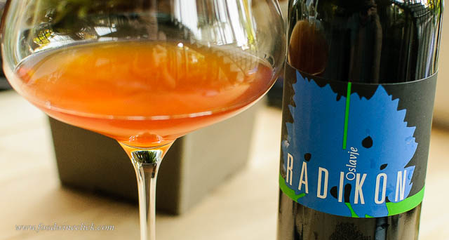 Radikon Oslavje orange wine