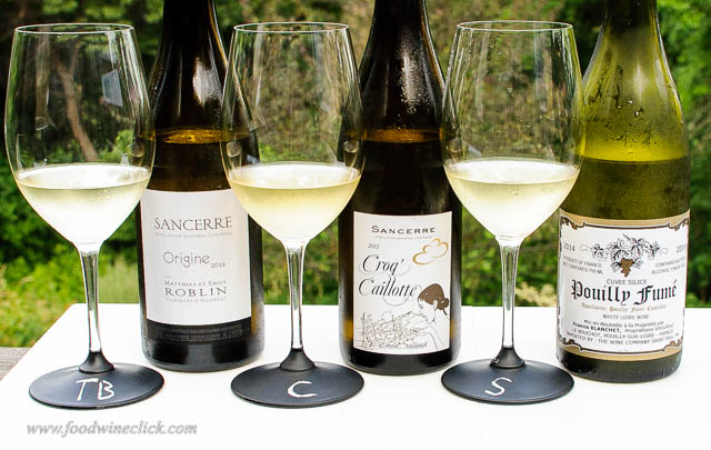 sancerre and pouilly-fume wines