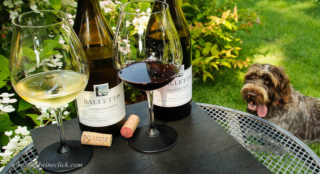 Balletto Chardonnay and Balletto Pinot Noir