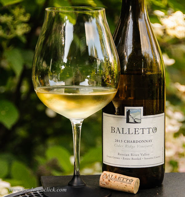 Balletto Chardonnay 2013, Cedar Ridge Vineyards, Russian River Valley