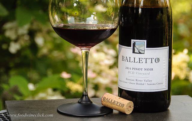 Balletto Russian River Pinot Noir 2014, BCD Vineyard