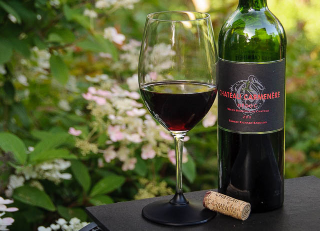 Bordeaux in the summer? Absolutely! Just serve on the cool side of room temperature.