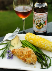 Amontillado sherry is the best pairing for fresh asparagus I have ever tried.