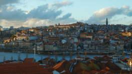 Gaia, just across the Douro River from Porto is the home to all the Port houses